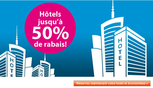 hotels promo ebookers.ch 50%